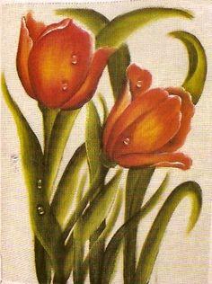 risco+pintura+em+tecido+pano+de+copa+prato+tulipas+2.jpg 304×408 pixels