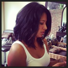 Pictures Of Long Layered Bobs Great