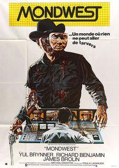 Redécouvrez la bande-annonce du film Mondwest ponctuée des secrets de tournage et d'anecdotes sur celui-ci. Mondwest (Westworld) est un film américain de s