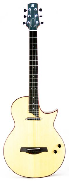 the Librada, acoustic/electric guitar Custom Guitars, Acoustic, Bass, Electric, Music Instruments, Yellow, Musical Instruments, Lowes, Double Bass