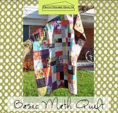 Basic Math QuiltTutorial on the Moda Bake Shop. http://www.modabakeshop.com Level: Easy