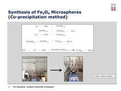 The mechanism and setup for making magnetic nanoparticles.