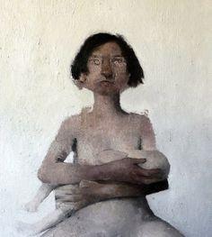 """madonna col bambino""/olio su tela 120 x 90 cm/ by elia mauceri1"
