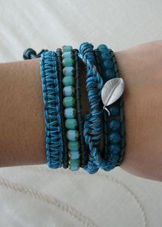 Bracelets- I should do colour coordinates bracelets and then sell them
