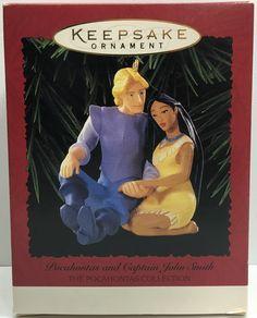 (TAS033089) - Hallmark Keepsake Ornament Pocahontas and Captain John Smith