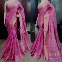 Code:C2006160 - Maheshwari Saree With Woven Border, Price INR:3720/-
