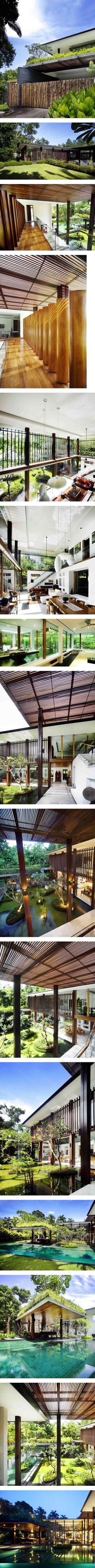 Sun House in Singapore by Guz Architects