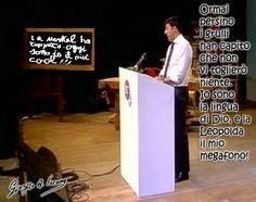Renzi, la lingua di Dio!
