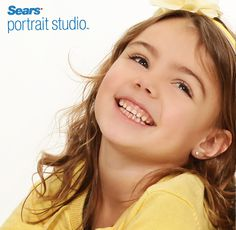This photo shoot was full of smiles and giggles! Visit us for an exciting photo shoot and beautiful portraits! #SEARSPortraits