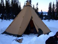 Tentipi pitched in Swedish Lapland on our recent staff trip! Cold Weather Camping, Winter Camping, Camping Tips, Wilderness, Outdoor Gear, Camping Tricks