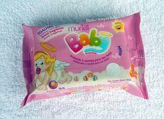 Espaço Sempre Bella: #Resenha - Toalhas Umedecidas Menina - Muriel Baby...