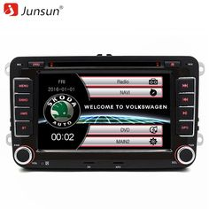 Buy US $143.76  Junsun 7 inch 2 Din Car Radio DVD GPS Player With Radio FM GPS Navigation For Skoda Fabia/Praktic/Roomster/Octavi/Yeti