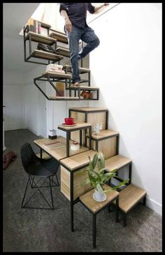 What do you think of this staircase by designer Mieke Meijer?  You'll find a lot more staircase ideas on our site at: http://theownerbuildernetwork.co/xvii