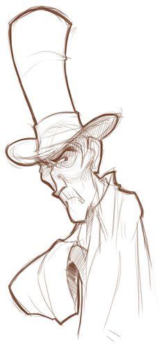 Top Hat Grump by basakward on deviantART