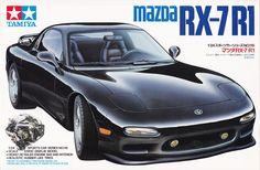 Highly detailed injection moulded plastic assembly kitset of Mazda scale. Tamiya Model Kits, Tamiya Models, Model Cars Kits, Plastic Model Kits, Plastic Models, Plastic Injection Molding, Rx7, Car Posters, Vintage Models