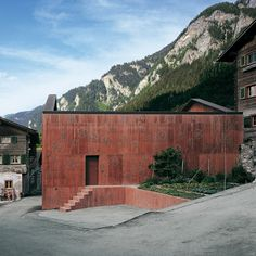Valerio Olgiati - Atelier Bardill, Scharans 2007.