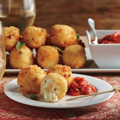 Mozzarella And Asiago Arancini Recipes — Dishmaps