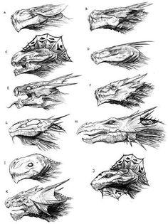 Тру Художник how to draw a dragon - Drawing Tips Creature Drawings, Animal Drawings, Cool Drawings, Pencil Drawings, Creature Concept Art, Creature Design, Fantasy Dragon, Fantasy Art, Dragon Anatomy