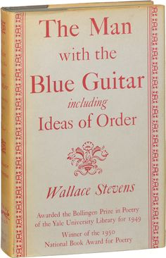 the man with the blue guitar wallace stevens analysis
