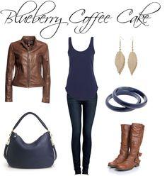 """Blueberry Coffee Cake"" by jess31rabbit on Polyvore"