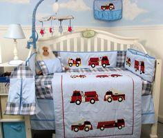 Fire Truck Nursery On Pinterest Truck Nursery Fireman Nursery And Nurseries