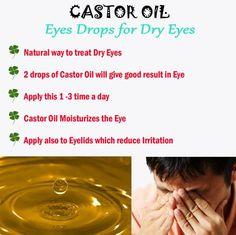 Castor Oil Eye Drops for Dry Eyes