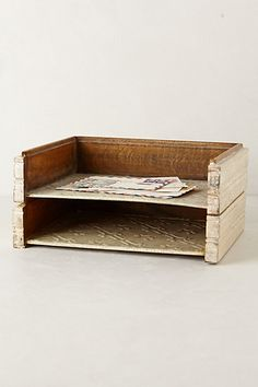 Handcarved Stacking Tray #anthrofave #anthropologie.com