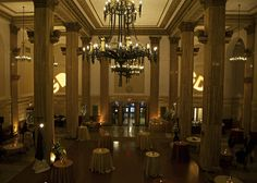 Weddings, corporate functions, and special events at a venue in Downtown Albany with both beauty and character while also providing guests with gourmet food and unsurpassed service. Chandelier, Ceiling Lights, Places, Events, Weddings, Hospitality, Catering, Home Decor, Candelabra