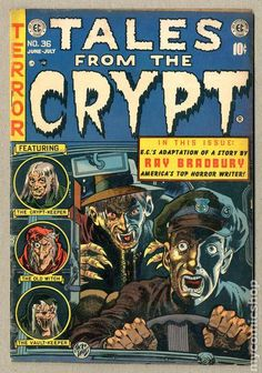 Tales from the Crypt comic book.