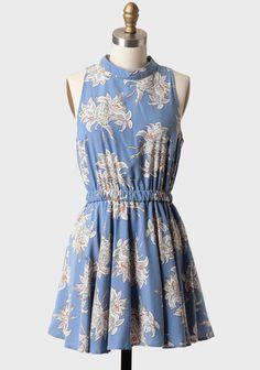 Hibiscus Whisper Printed Dress at #Ruche @shopruche