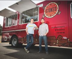 Stoked Wood Fire Pizza truck - Dewey Square on Wednesday for lunch Pizza Truck, Food Truck, Wood Fired Pizza, Base Foods, Firewood, Van, Fire Pizza, Wednesday, Trips