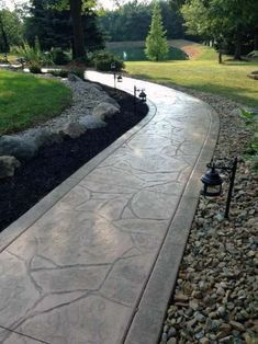 Outdoor Concrete Walkway Design Ideas From stamped to stained, discover the top 60 best concrete walkway ideas. Explore front yard and backyard outdoor path designs for your home.