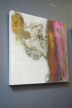 """P.B.G 1&2"" by Marissa Starr Resin art"