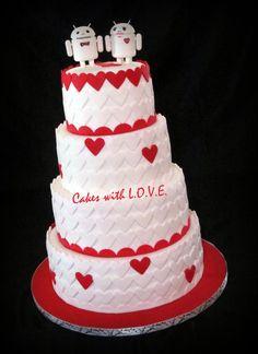 android wedding cake