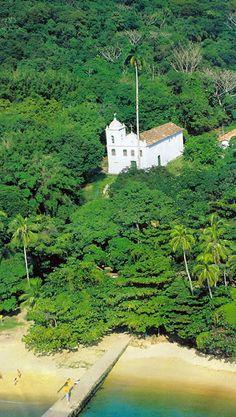 church on ilha grande