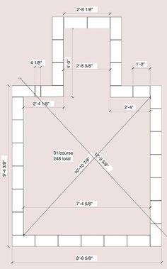 План погреба с размерами