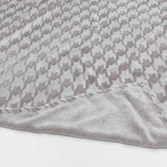 HOUNDSTOOTH BLANKET - Blankets - Bedroom | Zara Home United Kingdom