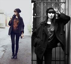 Simple, daily look :) - happy new year lookbookers! (by Maria Joanna)