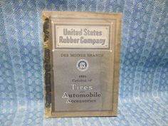 1915-1922 US Tire & Auto Parts & Accessories Catalog Ford GM Dodge Auburn Moon #USTire