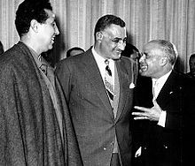 Habib Bourguiba & Ben Bella & Gamal Abdel Nasser