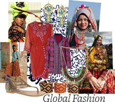 """""""Global Fashion"""" by solair-e ❤ liked on Polyvore"""