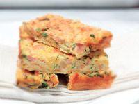 Ham and vegie slice recipe - 9kitchen