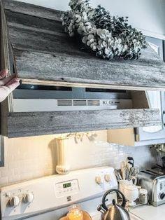How to clean your kitchen credenza? Kitchen Redo, Kitchen Design, Kitchen Ideas, Kitchen Stuff, Kitchen Interior, Kitchen Cabinets, Kitchen Vent Hood, Custom Range Hood, Kitchen Upgrades