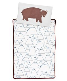 Bruno Pillow Case and cool mountain blanket by Fine Little Day