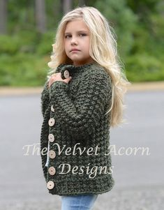Listing for KNITTING PATTERN ONLY of The Obsidian Sweater. This sweater is handcrafted and designed with comfort and warmth in mind…Perfect accessory for all seasons. All patterns are american english written instructions in standard US standard terms. **Sizes included 2, 3/4, 5/6, 7/8, 9/10, 11/12, S, M, L sizes. **Any super bulky weight yarn can be used. Finished approx. measurements with sweater folded closed: 2 (sweater 23.5 inch chest circumference) 3/4 (sweater 24.75 inch chest circ...