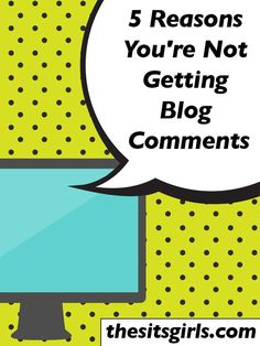 Do you want more comments on your blog? Make sure you aren't doing these things that drive commenters away.
