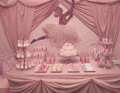 "Photo 14 of Ballet / Birthday ""Glittery Ballerina Party"" Ballerina Birthday Parties, First Birthday Parties, Girl Birthday, Birthday Ideas, Ballerina Baby Showers, Ballerina Pink, Tutu Party, Baby Shower Vintage, Shower Bebe"