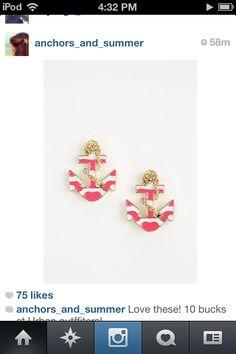 Cutest earrings ever!!
