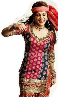 $158.70 Kangna Ranaut Tanu Weds Mannu Dress 14252