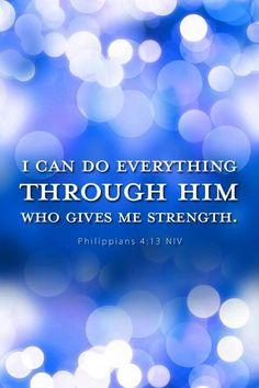Jehovah Gives Strength.